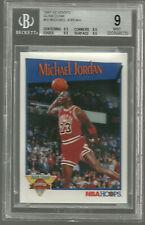 Michael Jordan 1991-92 Hoops Slam Dunk Champion #IV BGS 9 9.5 9.5 9.5 8.5 Bulls