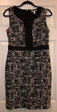 Dana Buchman Black & White Dress Size S, NWT