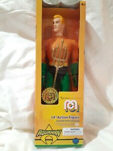 """AQUAMAN 14"""" FIGURE  MARTY ABRAMS PRESENTS MEGO 14 POINT ARTICULATION NEW"""
