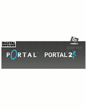 Portale Bundle Portal 1 + 2 STEAM KEY PC Game download codice Global
