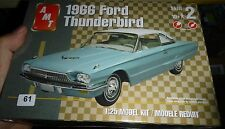 AMT 1966 FORD THUNDERBIRD Coupe/CONVERTIBLE 1/25 Model Car Mountain KIT FS 38075
