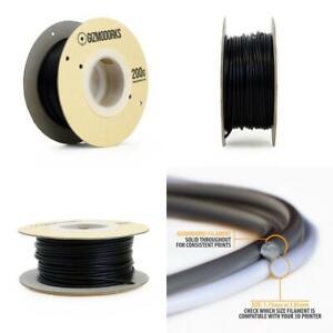 Gizmo Dorks Polycarbonate Filament for 3D Printers 3mm (2.85mm) 200g, Black