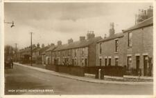 REAL PHOTOGRAPHIC POSTCARD OF THE HIGH STREET, HOWDEN-LE-WEAR, COUNTY DURHAM