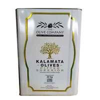10kg Kalamata Olives Pitted Black The Olive Company Greek Authentic Produce