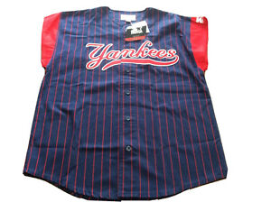 Vintage 90s NEw W/Tags New York Yankees Starter Jersey Mens M MLB Baseball HTF