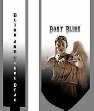 L@@K! Dont Blink Weeping Angels Neck Tie -  The Doctor Tardis Whovians LOOK!