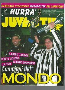 HURRA' JUVENTUS suppl.dicembre 1996 Campioni del Mondo