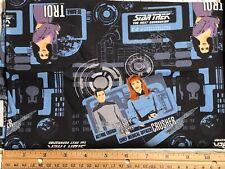 Star Trek Next Generation CEA Fabric 100% Cotton Fat Eighth 9x21 Quilt Crafts