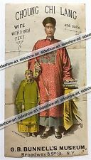 Chung Chi Lang Chinese Giant - Broadside Circus Sideshow Freak Bunnell's Museum