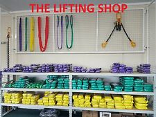 (2 pack) 2 T x 2 M Round lifting Sling Rigging