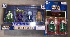 Star Wars 3.75 Disney Store Exclusive Droid Factory Action Figure Lot Last Jedi