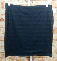 Old Navy Blue Eyelet Skirt Size XL