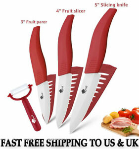 Ceramic Kitchen High Quality Chef Cooking Knives Set With Super Sharp Blade