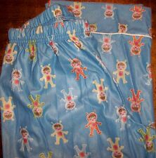 Girls Pajama Pants sz 10 OLD NAVY Blue w/Girls Floating in Space Suits NEW