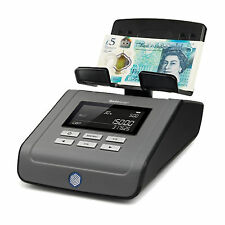 Safescan 6165 Money Counting Scale GBP £5 Polymer Note & New £1 Coin Ready