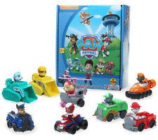 8 PAW PATROL Marshall Rubble Rocky Chase Skye Zuma Pups Kinder Spielzeug Figuren