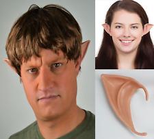 Pointed Ears Fancy Dress Accessory 10cm (Unisex) Elf, Pixie, Alien, Goblin, UK