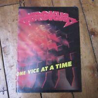 Krokus One Vice at a Time Tour Program Programme A4 1982 Rare Rock Free UK P+P