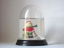 Vintage Christmas Child Skiing Snow Globe/Snow Dome Collectible #24