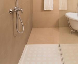 AntiRutsch Dusche Matte fein transparent eckig rutschschutz Duschmatte Badematte
