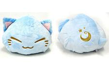 Nemuneko 12'' Light Blue Sleeping Cat Plush Anime Manga NEW