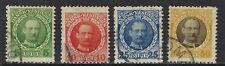 Danish West Indies, Sc# 43,44,47,50, Used, Cv$20.30, Lot 8-13