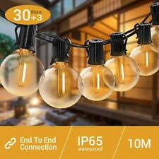 Elegear LED Festoon Lights Outdoor IP65 Professional Waterproof Garden String