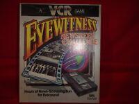 VINTAGE 1985 VCR GAME - EYEWITNESS NEWSREEEL CHALLENGE - PARKER BROS - COMPLETE.