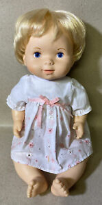 "Vintage 1979 Fisher Price Baby Soft Sounds 16"" Doll - No Sound"