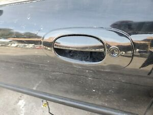 1998-2003 JAGUAR XJ8 XJR VANDEN PLAS LEFT DRIVER EXTERIOR DOOR HANDLE BLACK FED