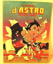 """trimestriel BD """" le journal d'astro le petit robot """" n° ed page blanche 1983"""