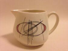 Carlton ware Orbit Milk Jug Mid Century Atomic Vintage modernist Pottery