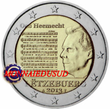 2 Euro Commémorative Luxembourg 2013 - L'Hymne National