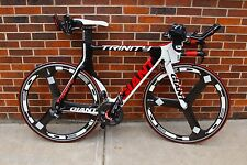 2011 Giant Trinity Advanced SL 2 Time Trial Tri Bike Ultegra Di2 HED Small