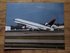 DELTA - LARGE PHOTO -  DELTA  MD 11 - ON TAKE OFF - 20 X 16