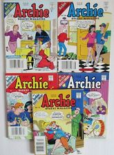 1999/00 ARCHIE Digest Magazine #163 166 167 169 170 VF- to FN- LOT of 5