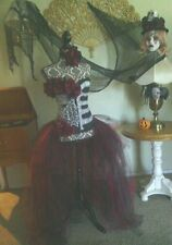 Dia de Los Muertos costume, Day of the dead, Burlesque, woman, Steampunk, Sz M