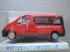 Rietze51292 Opel Vivaro Jugendfeuerwehr Sachsen aus Sammlung in OVP