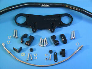 Abm Superbike Handlebar Kit Kawasaki ZZR 1400 (ZXT40A/C) 06-11 Black