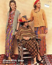 Classic Elite Yarns Knitting Pattern #604 Harare, Zimbabwe -3 Designs Easy & Int