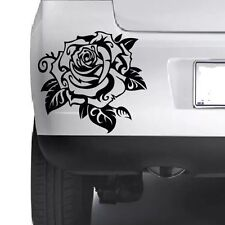 ROSE Floral Decorative Car Bumper Van Window Wall Laptop VINYL DECAL STICKER