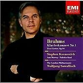 Brahms: Piano Concerto no.1 and Vocal Works /Stephen Kovacevich, , Very Good