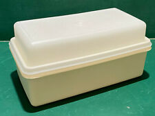 Vintage Tupperware Bread Load Keeper #1508 Almond with Seal #1509
