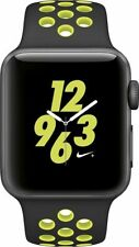 Apple Watch Series 2 NIKE+ 38mm Space Gray Black/Volt Band MP082LLA