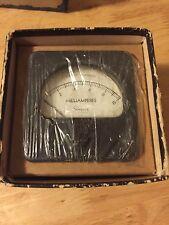 New listing Vintage Amp Meter, Simpson, Milliamperes, Electrical Instrument, Dc, original
