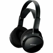 Sony MDR-RF811RK Auriculares Inalámbricos-Negros-libre de garantía de 90 días