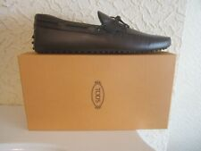 Tod's Laccetto New Gommino Antique' Effect Leather Men's Shoes