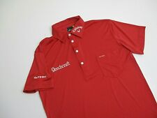 Mens Tour Issue Sligo Callaway Odyssey Beechcraft golf Shirt S small red poly
