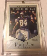 1999 Upper Deck Retro Legends of the Fall SILVER #L6 Randy Moss # 61/75 Vikings