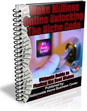 MAKE MILLIONS ONLINE UNLOCKING THE NICHE CODE PDF EBOOK FREE SHIPPING